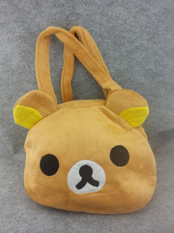Rilakkuma Bear Cute Kawaii Anime Animal Furry Plush HandBag T2
