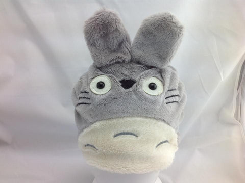 Neighbor Totoro Kawaii Gray Plush Cosplay Costume Soft Hat--Snowboard Keep warm