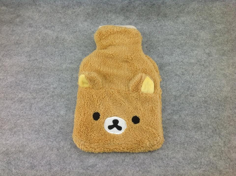 Brown Rilakkuma Bear Cosplay Furry Soft Plush hot water warming bottle bag