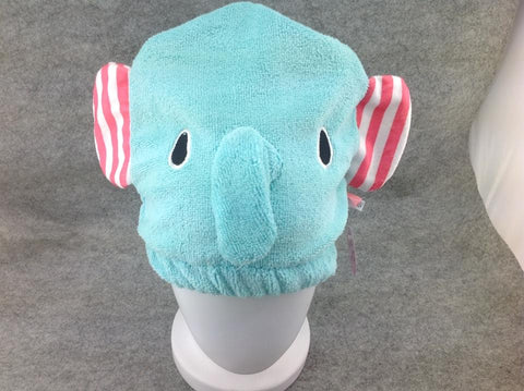 Cute Kawaii Anime Animal Hat Rave Beanie Cap Furry Plush Cosplay Elephant-type2
