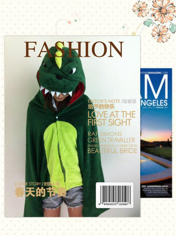 Cute Kawaii Dinosaur Soft Comfortable plush Costume Cloak Shawl Cape Wrap-T3