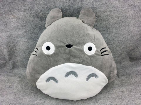 New Totoro Ghibli Kawaii Anime Animal Beanie Shake Massage Cushion Furry Plush