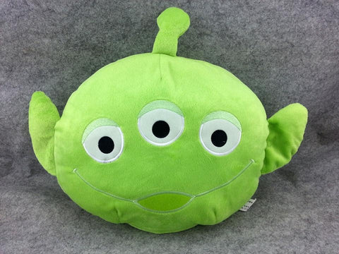 New Toy Story Alien Cute Kawaii Beanie Shake Massage Cushion Furry Plush