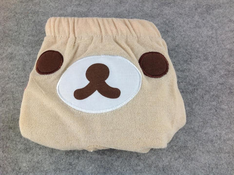 WHITE Rilakkuma Bear Kawaii Cuite Cosplay Plush sleep shorts/hot pants/scanties