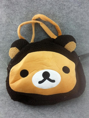 Rilakkuma Bear Cute Kawaii Anime Animal Furry Plush HandBag Hand Bag T3