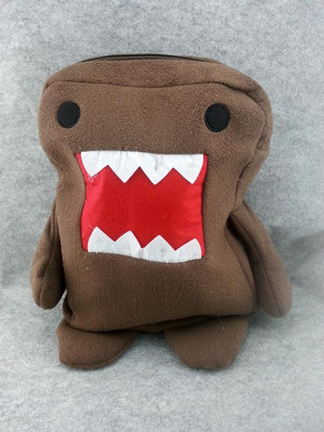 Domo Kun Cute Kawaii Anime Animal Furry Plush HandBag Backpack Bag School Bag