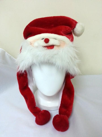 Cute Kawaii Anime Animal Hat Rave Beanie Cap Furry Plush Cosplay Santa Claus Hat