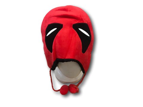 Marvel Comics Deadpool Fashion Cosplay Soft Plush Unisex Beanie Winter Warm Hat