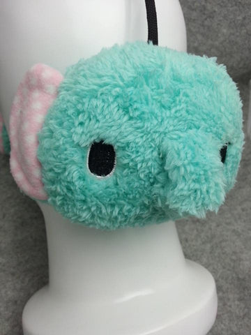 Elephant Cute Kawaii Anime Animal Hat Rave Beanie Earmuff Furry Plush
