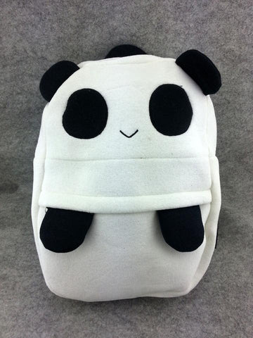 Cute Kawaii Panda Soft Furry Plush HandBag Backpack Bag School Bag Travel Bag