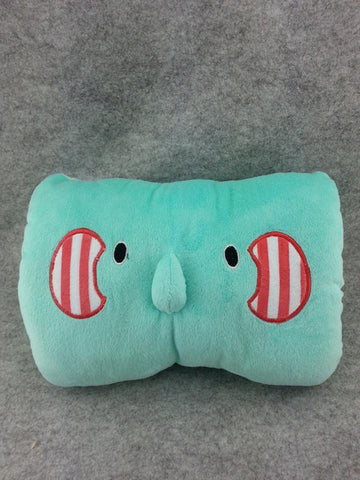 Animal Elephant Cute Kawaii Cosplay Furry Soft Plush Cushion Hand Cover