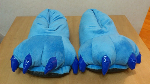 Lilo and Stitch Stitch Cosplay Adult Soft Plush Rave Shoes Slippers 11""