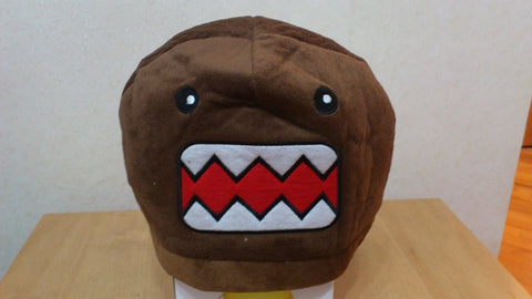 New Domo Kun Cosplay Adult Plush Rave Figure Hat Cap Warm Cartoon