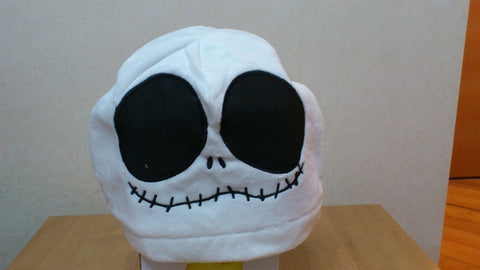 New The Nightmare Before Christmas Jack Cosplay Adult Plush Rave Figure Hat Cap Warm Cartoon