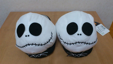 New The Nightmare Before Christmas Jack Cosplay Adult Plush Rave Shoes Slippers 11""