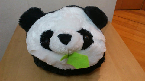 Panda Kawaii Cuite Cosplay Adult Plush Rave Shoes Doll Slippers Mega Size