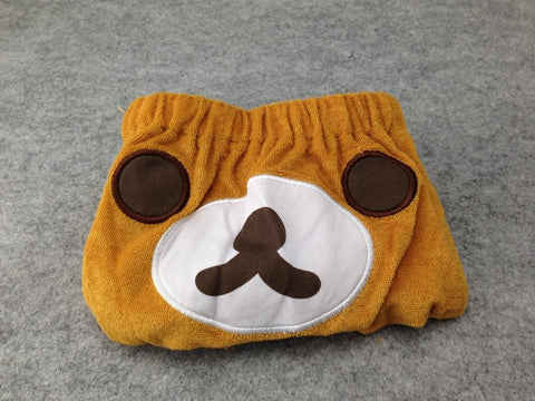 BROWN Rilakkuma Bear Kawaii Cuite Cosplay Plush sleep shorts/hot pants/scanties