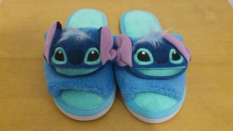 Lilo and Stitch Kawaii Cuite Cosplay Adult Plush Rave Shoes Doll Slippers 10""