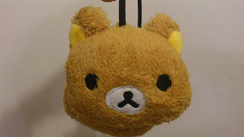 Rilakkuma Bear Cute Kawaii Anime Animal Hat Rave Beanie Earmuff Furry Plush