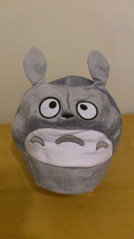 Totoro Cosplay Adult Plush Rave Figure Hat Cap Warm Cartoon