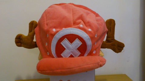 One Piece Chopper Cross Cosplay Adult Plush Rave Figure Hat Cap Warm Cartoon