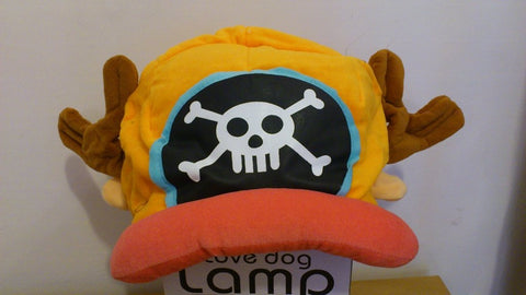 One Piece Chopper Pirate Cosplay Adult Plush Rave Figure Hat Cap Warm Cartoon