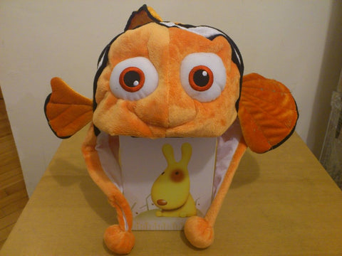 Gold Fish Kawaii Anime Animal Hat Rave Beanie Cap Furry Plush Cosplay