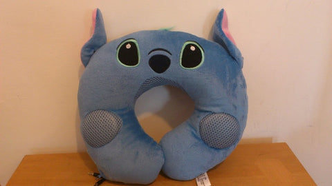 Lilo and Stitch Kawaii Anime Animal Beanie Neck Cushion Furry Plush with Speaker