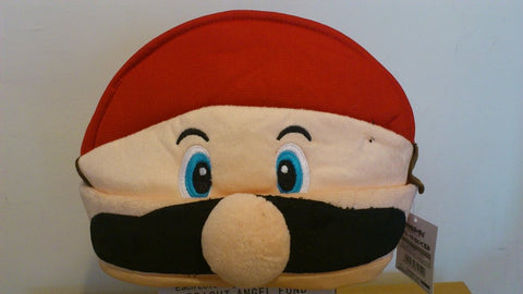 Super Mario Bros Cosplay Adult Plush Rave Figure Hat Cap Warm Cartoon