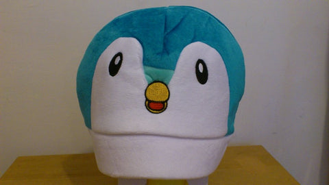 Cute Kawaii Anime Animal Hat Rave Beanie Cap Furry Plush Cosplay Blue Bird