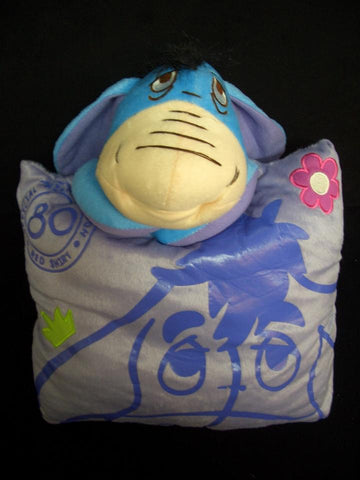 New Eeyore Cute Kawaii Anime Beanie Shake Massage Furry Plush Cosplay Cushion