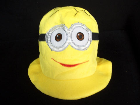 Cute Kawaii Anime Hat Rave Beanie Cap Furry Plush Cosplay Despicable Me 2 Minions Hat T2