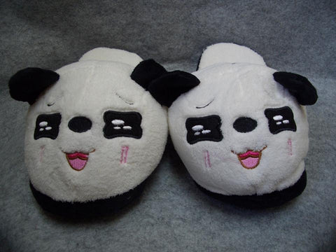 Metoo Panda Style (3)  Cosplay Adult Women Plush Rave Shoes Slippers 10""