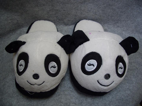 Metoo Panda Style (5)  Cosplay Adult Women Plush Rave Shoes Slippers 10""