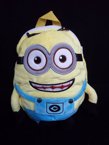 Despicable Me the Minions Cosplay Cotton HandBag Backpack School Bag T2