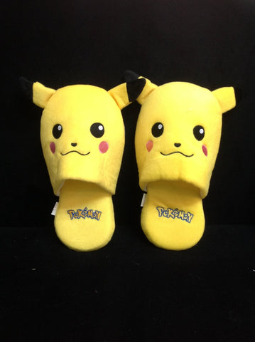 Brand New Pokemon Pikachu Anime Cosplay Unisex Adult Soft Warm Cute Slippers 11""