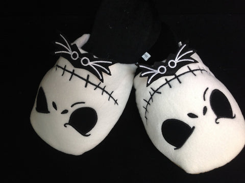 The Nightmare Before Christmas Jack Cosplay Adult Plush Rave Shoes Slippers 11""