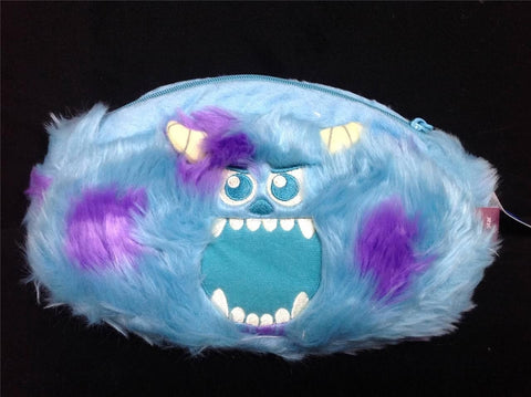 Disney Monster University Sulley and Squishy 2 way Changeable Small Cosmetic Bag