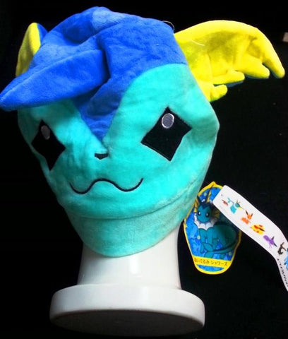 New Nintendo Creature Bubble Aqua Pok__mon Vaporeon Shawaaza Cosplay Plush Hat