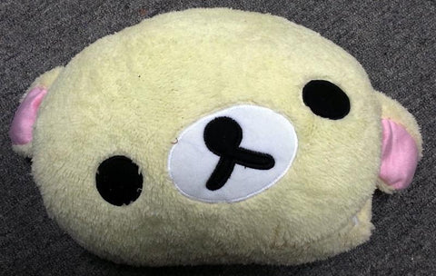 Cutie Soft Japanese Cartoon Character White Rilakkuma Plush Handwarmer Cushion
