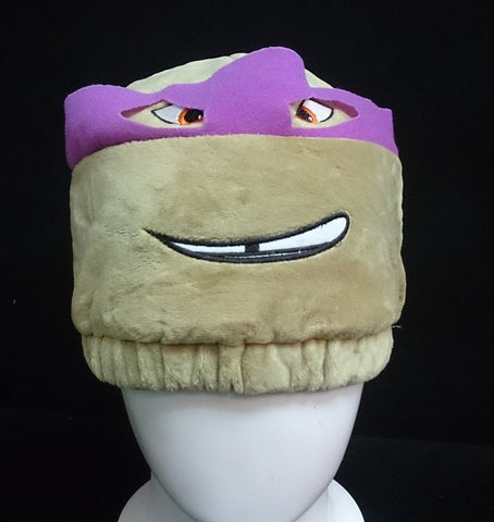 Teenage Mutant Ninja Turtles (TMNT) Cosplay Furry Plush Hat Beanie Cap - Donatello