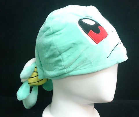 New Nintendo Creature Intertwining Pok__mon Squirtle  Cosplay Plush Hat
