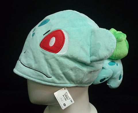 New Nintendo Creature Intertwining Pok__mon Bulbasaur  Cosplay Plush Hat