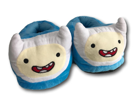 Adventure Time Finn Soft Stuffed Plush Slippers Home Indoor Warm Shoes 28cm