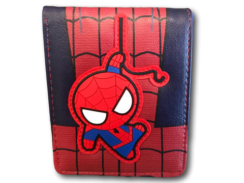 Marvel Avengers Super Hero short Wallet Comic Purse Purses Red Blue Spiderman