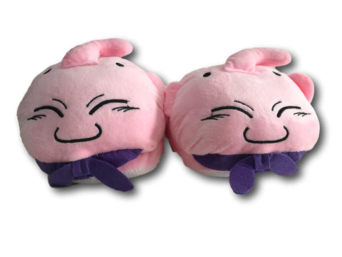 Dragon Ball Z Majin Buu Soft Plush Slippers Winter Indoor Shoes 28cm