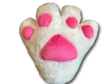 Sexy Claw Cat Kitten Maid Anime Costume Plush Cosplay Party Paws Gloves White