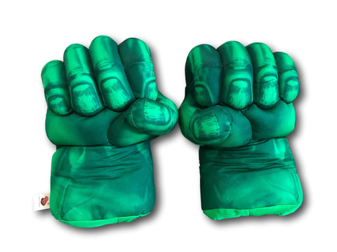 The Avenger Incredible HULK Soft Smash Hand Gloves Set Punching Boxing Type Fist