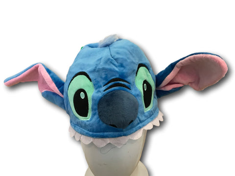 Cute Kawaii Anime Hat Rave Beanie Cap Furry Plush Cosplay Lilo and Stitch Stitch