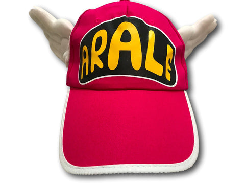 Unisex Dr.Slump Arale Angel Wings Snapback Hat Baseball Cap for Adult Kids PINK